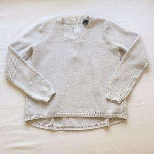 Banana Republic white sweater